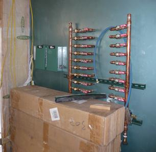 Platinum Leed Home Colorado Hydronic Radiant Heating And